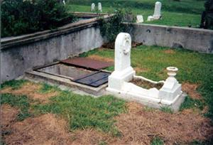 Florence Irene Ford grave at Natchez City Cemetery